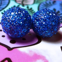 DIY - Glitter Earrings