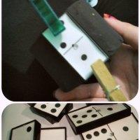 DIY Domino Bracelet