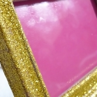 Glitter Picture Frame - DIY