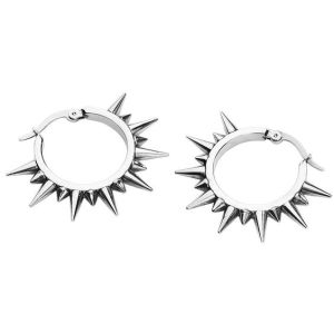 spiked earrings inspiration diy