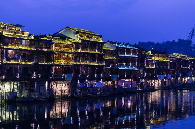 hunan, fenghuang county, china, most beautiful town in china