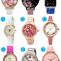 Favorite floral watches